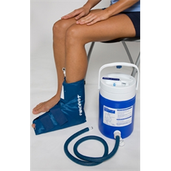 CRYOCUFF SYSTEM ANKLE GRAVITY FEED WITH COOLER