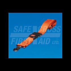 "SPINAL BOARD STRAP W/SWIVEL SPEED CLIP (5'X2"")"