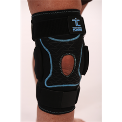 Hinged Knee Brace with Kinetic Panel