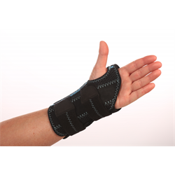 Wrist Brace with Double Stay and Kinetic Panel