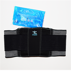 Back Support With Hot Cold Pack