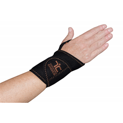 Copper Wrist Compression Wrap