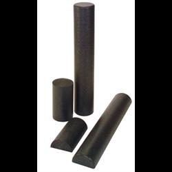 """Foam Roller 6""""x 36"""" Black"""
